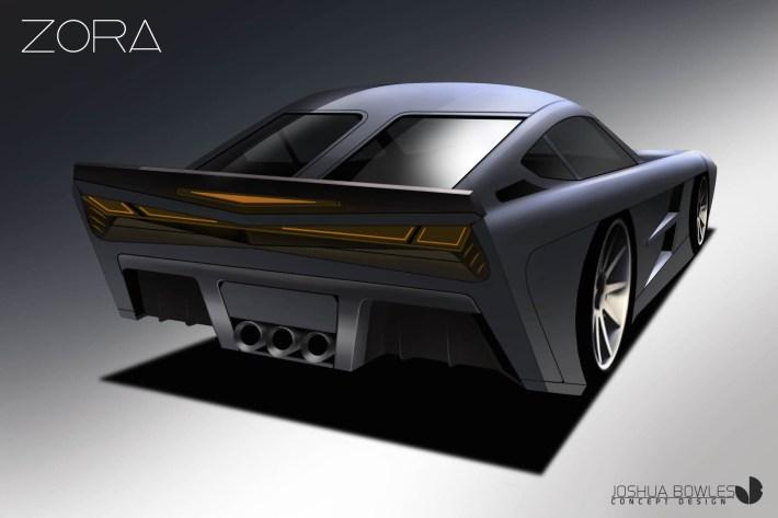 Zora Corvette Design Study