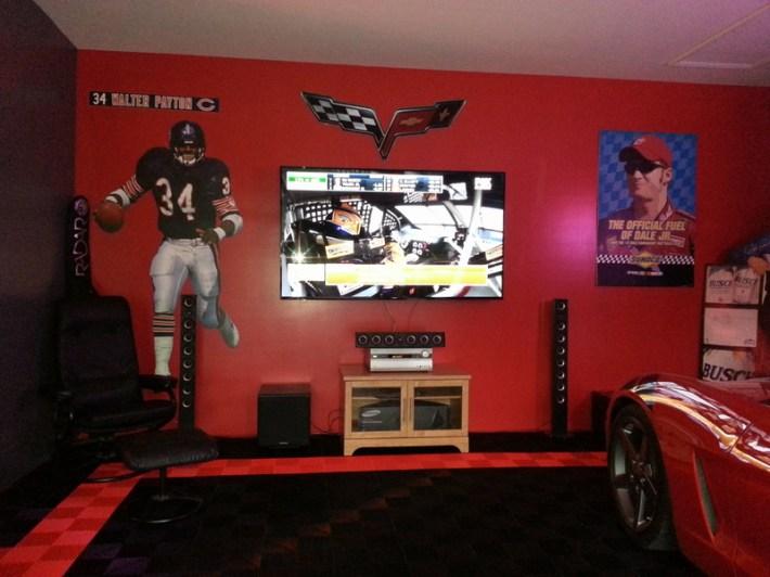 slvr built brother's garage
