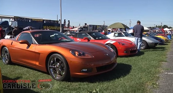 Corvettes at Carlisle
