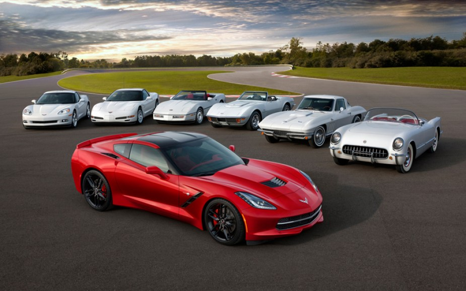 All Seven Chevrolet Corvette Generations