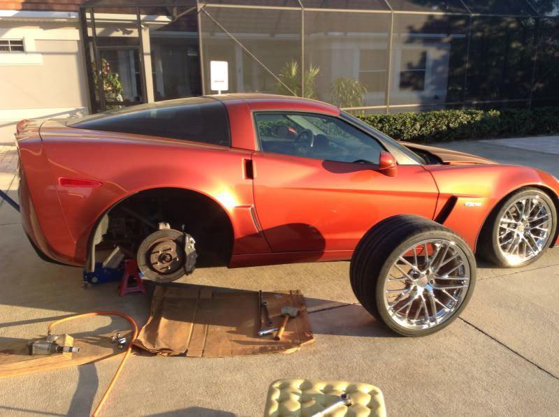 orange brake bleed