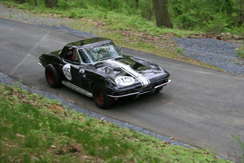 racing corvette 6