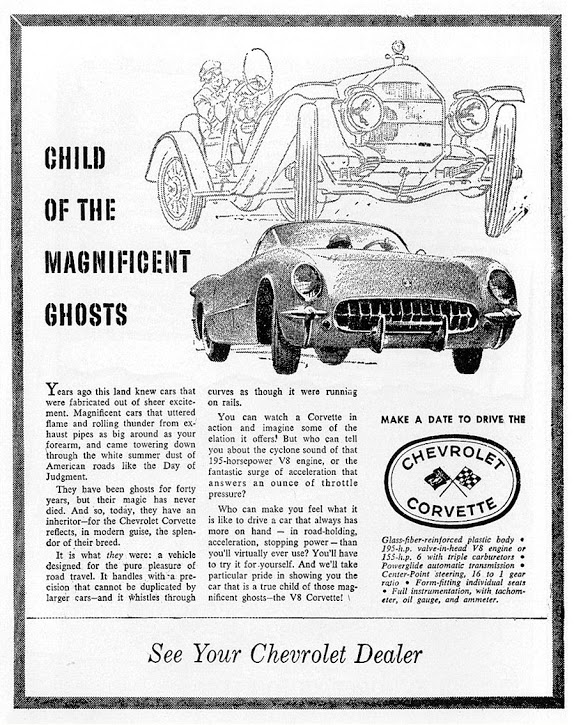 What Was the First Corvette Advertisement You Remember