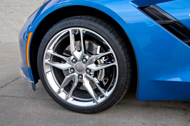 c7 blue brakes