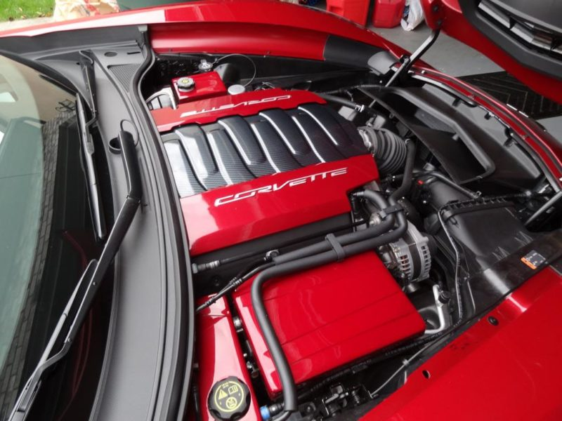 tricked engine bay