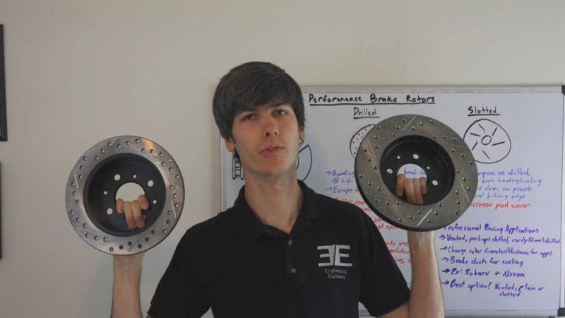 drilled-rotors