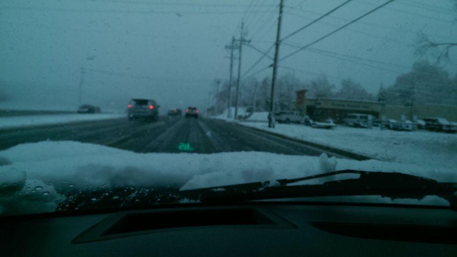 snow corvette