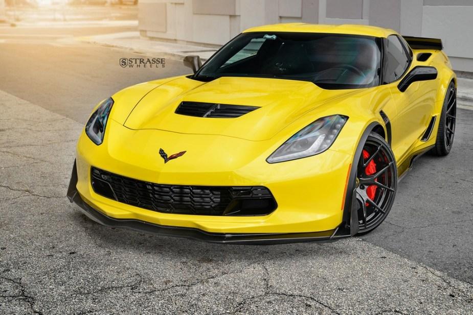 strasse wheels corvette c7