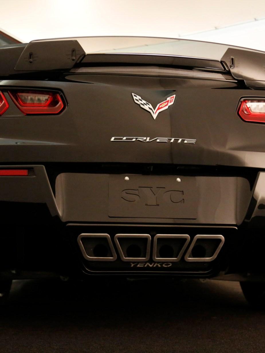 2017 Yenko Corvette Rear