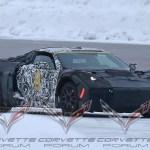 C8 Mid-Engine Corvette Spy Shot: Could it be a hybrid?