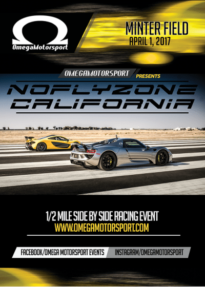 No Fly Zone California Flyer