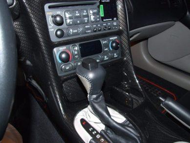 Corvette Carbon Fiber Dashboard