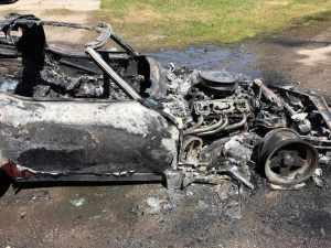 Chevrolet C3 Corvette Fire