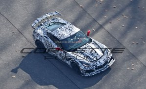 Chevrolet Corvette ZR1 Spy Shot
