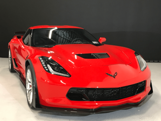 Keep your Corvette looking great with some DIY car wax.