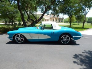 1960 Corvette Restomod