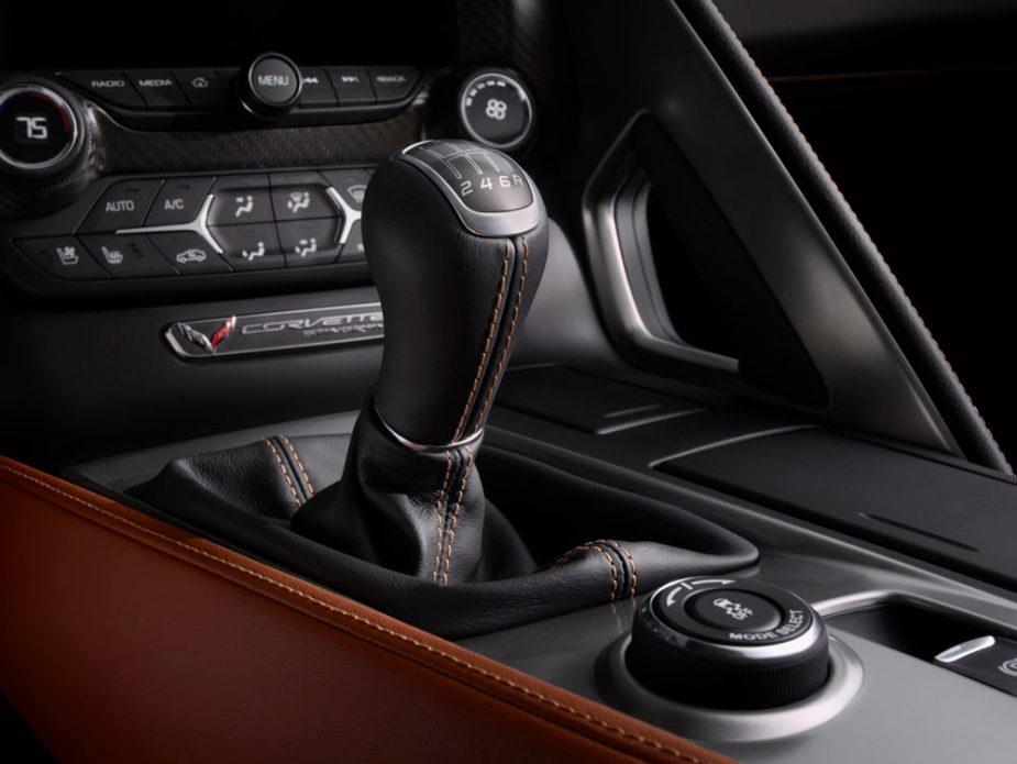 Corvette Manual Shifter