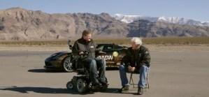 Sam Schmidt talks to Jay Leno about his Corvette Z06