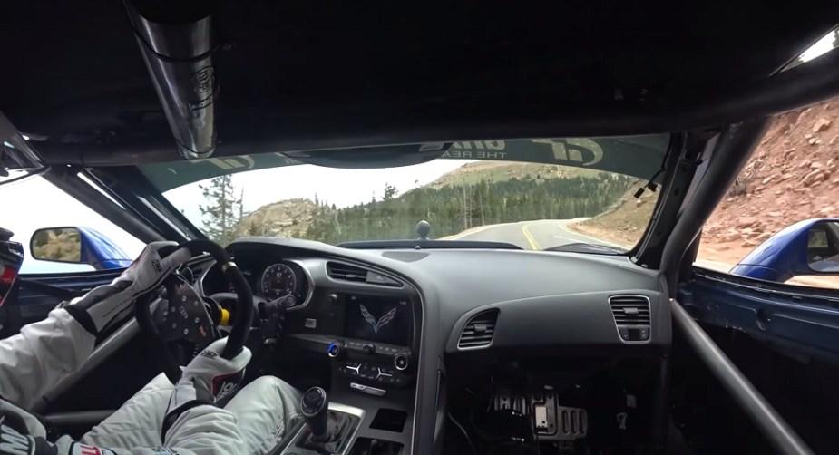 Robb Holland's Salvage Title Corvette Z06