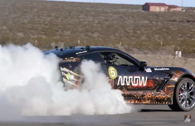 Sam Schmidt's semi-autonomous Corvette Z06