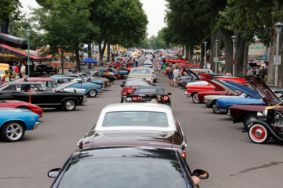 Corvettes and more attend the Car Craft Summer Nationals