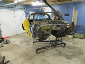 1981 C3 Corvette Body and Chassis Disassembly 3