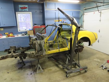 1981 C3 Corvette Body and Chassis Disassembly
