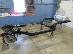 1981 C3 Corvette Frame Restored Suspension