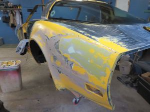 1981 C3 Corvette Rear Quarter Panel Driver