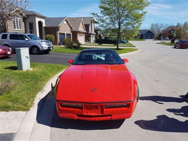 1985 Corvette Greenwood