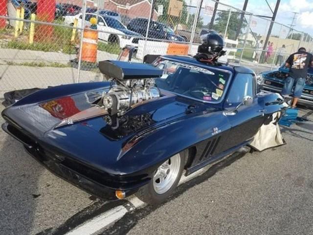 Corvette King of Woodward Avenue