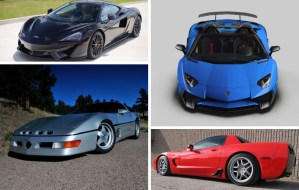 Corvettes and Supercars