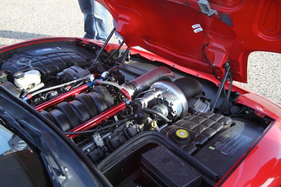 Corvette Intake Manifold Swap