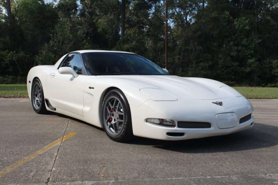This C5 Corvette Z06 benefitted from a suspension refresh.