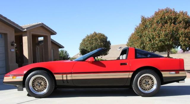 This Corvette C4 is peak 1985.