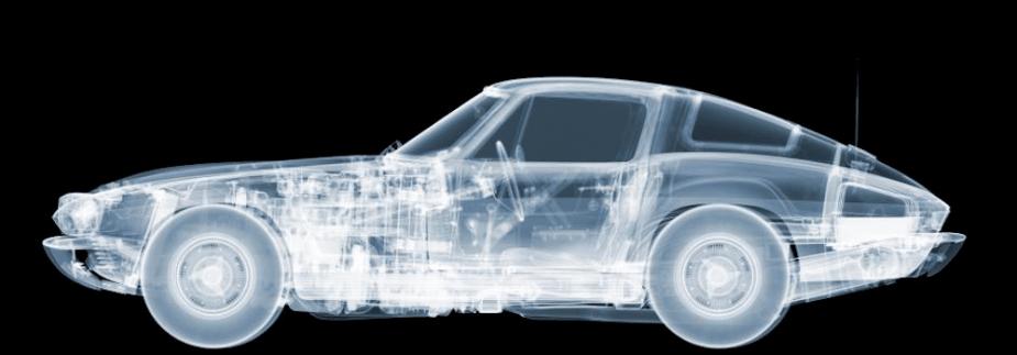 Corvette x-ray