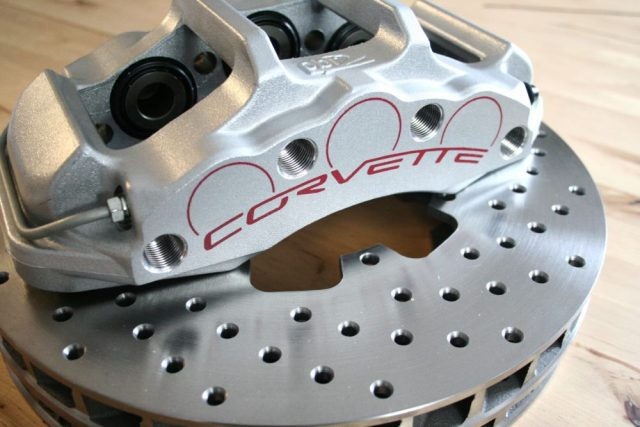 Replacing your Corvette's rear brake calipers is a stylish and safe upgrade.