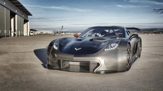 GT3 C7 Corvette