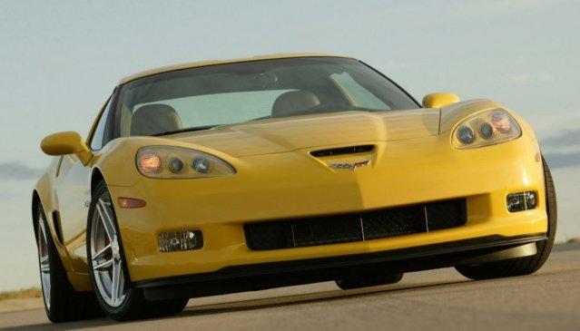 C6 Corvette Z06 front