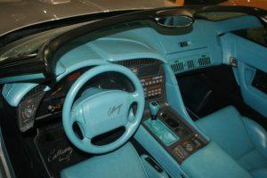 Callaway Corvette Interior
