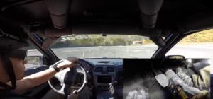 Trail-Braking In Car