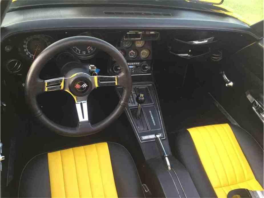 1973 Corvette C3 interior