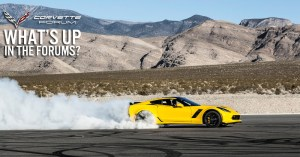 2016 Chevrolet Corvette Z06 Flagged