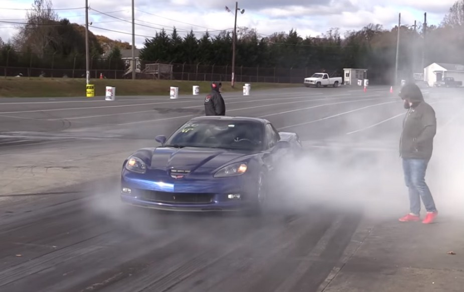 Corvette C6 Z06 Drag Racing Nitrous