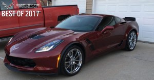 Totaled Corvette Forum Member's Car