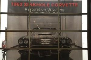 SInkhole Corvette