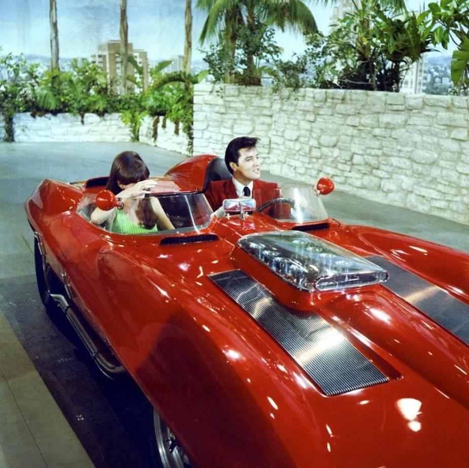 Elvis Presley Corvette