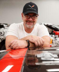 Corvette vehicle dynamics engineer, Jim Mero (Richard Prince/Chevrolet photo).
