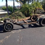 Corvette body off restoration