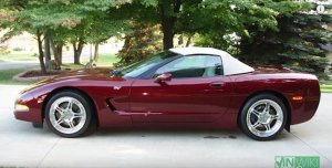 2003 Corvette Convertible